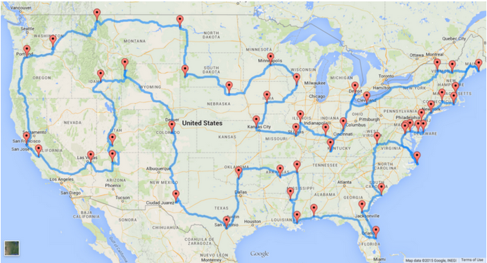 The Perfect US Road Trip